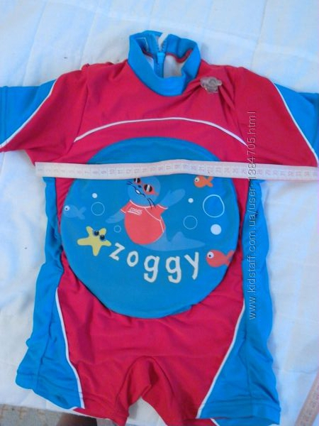 Плавательный костюм zoggs для деток возрастом 1-2 годика