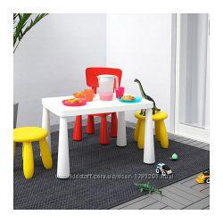 Дитячий стіл ikea MAMMUT икеа Маммут