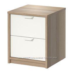 В наличии Комод с 2 ящиками ASKVOLL IKEA Аскволл икеа