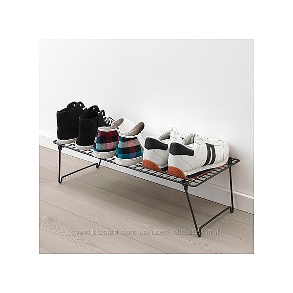 В наявності ikea Grejig Полка для взуття металева Икеа