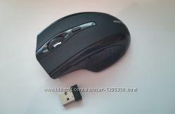 Беспроводная черная мышь мышка newpower новая