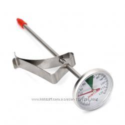 Термометр градусник механический кухонный пищевой с клипсой новый