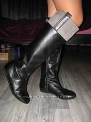 Шикарные кожаные ботфорты Braska