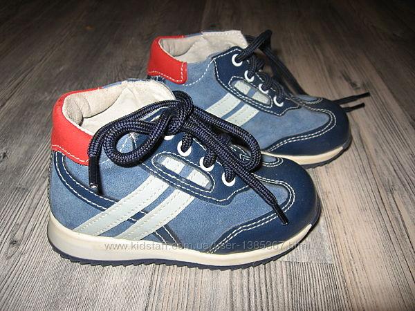 Кожаные демисезонные ботиночки Kavat и другие