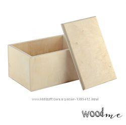 Шкатулка деревянная прямоугольная 3, 16х10х8 см