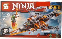 Конструктор Ninja Нинзяго Небесная акула SY528, ниндзя, Ллойд