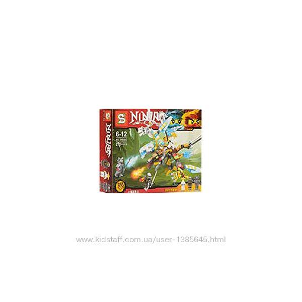Конструктор SY848C Ninjago Senco Дракон Двух Стихий