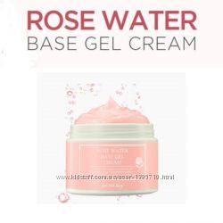 Увлажняющий крем SECRET KEY Rose Water Base Gel Сream с экстрактом розы