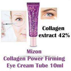 Коллагеновый крем для век MIZON Collagen Power Firming Eye Cream tube