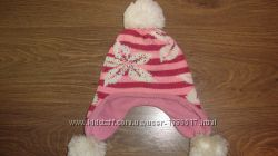 Теплая зимняя шапочка 5-7 лет