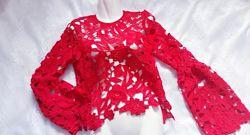 блуза кружевная р. L-XL