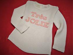 Вязаный свитерок кофта Zara 2-4 года