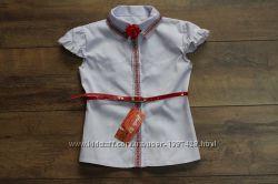 Нарядная блузка вышиванка для девочки. 116-152р.