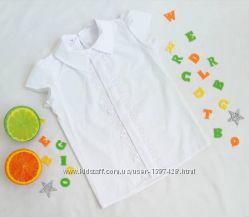 Школьная нарядная блузка блуза для девочки.