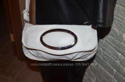 Сумка, сумочка, клатч, кросбоди белая Новая