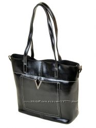 Кожаная классическая сумка PODIUM