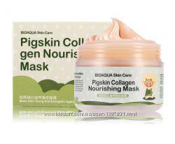 Омолаживающая маска с коллагеном BioAqua Pigskin Collagen