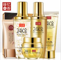 24k gold skin care , подарочный набор с 24 к золотом