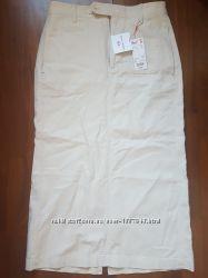 Юбка Uniqlo, юбка из льна и хлопка. Мои пролёты. Качество отличное.