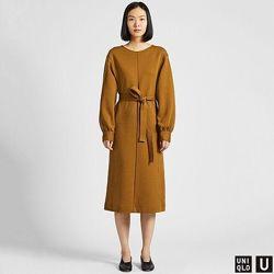 Трикотажное платье. Платье с бра, платье uniqlo, платье уникло, Ines