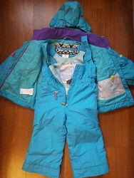 Зимний раздельный комбинезон Obermeyer 3Т, полукомбинезон, курточка