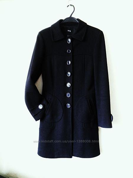 Черное пальто mng s xs
