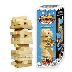 Деревянная Игра Из Брусков джанга