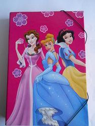 Папка для труда картонная для девочек