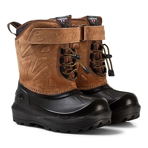 Детские ботинки сапоги Viking Nordlys Suede, до -25, 15-15,5 см