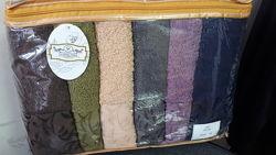 Распродажа махровых лицевых полотенец 6шт