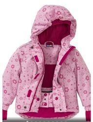 Термокуртки для дівчаток Crivit 86/92-110/116