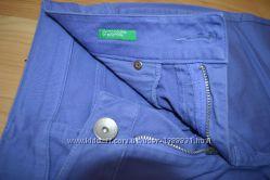 Джинсы фиолетовые Benetton