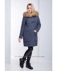 Модное женское пальто раз. 50 и 52 в 3-х цветах
