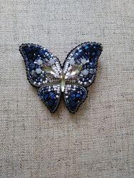 Брошь брошка  бабочка  ручная работа из бисера  Есть и другие.