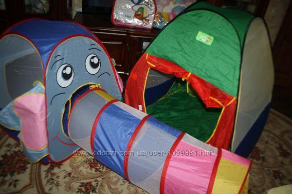 2 палатки.