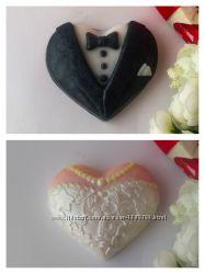 Подарочный набор Свадебный мыло мило ручная работа hand made