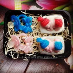 Подарочный набор мыДень рождения Двойняшек мыло мило ручной работы handmade