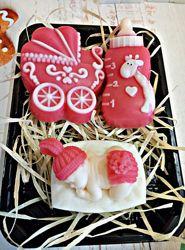 Набор мыло на рождение дочки подарочное ручная работа hand made