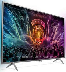 PHILIPS LED 55PUS6201  4K, Smart TV, Wi-Fi, T2 новий.