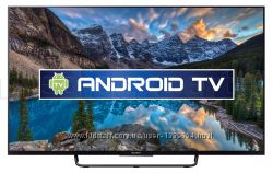 SONY LED KDL-55W808C - Full HD, 3D, Smart , Android TV, Wi-Fi, T2