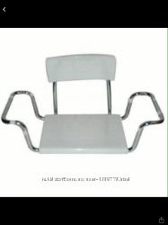 Пластиковое сидение для ванны Со спинкой OSD-2301