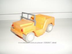 Винтаж сборная модель УАЗ конструктор джип СССР пластмасса Straume