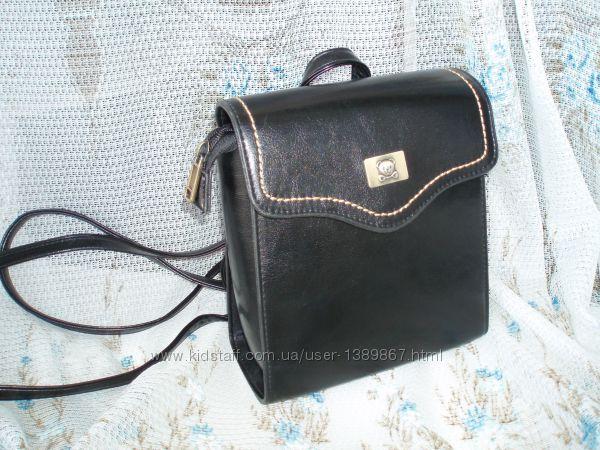 Backpack сумка-рюкзак эко кожа классическая модель