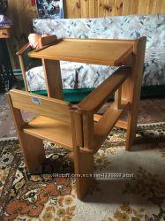 Стол детский деревянный раскладной