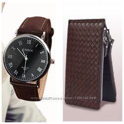Идея для подарка Клатч часы