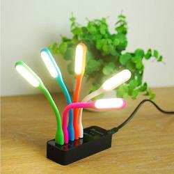 Светодиодная гибкая мини-usb-лампа led светильник портативный