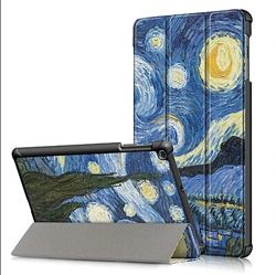 Чехол-Футляр на магните для Samsung Galaxy Tab 10.1 дюйма Ван Гог Звездная