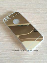 Чехол зеркало на iphone 5 6