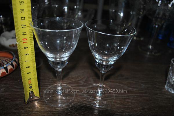 Мартинки 2 шт бокалы для вина нежные тонкие