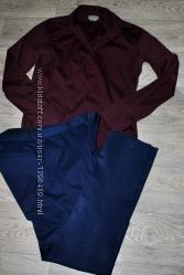 Продам комплект рубашка и брюки ZARA MEN s-m костюм демисезон